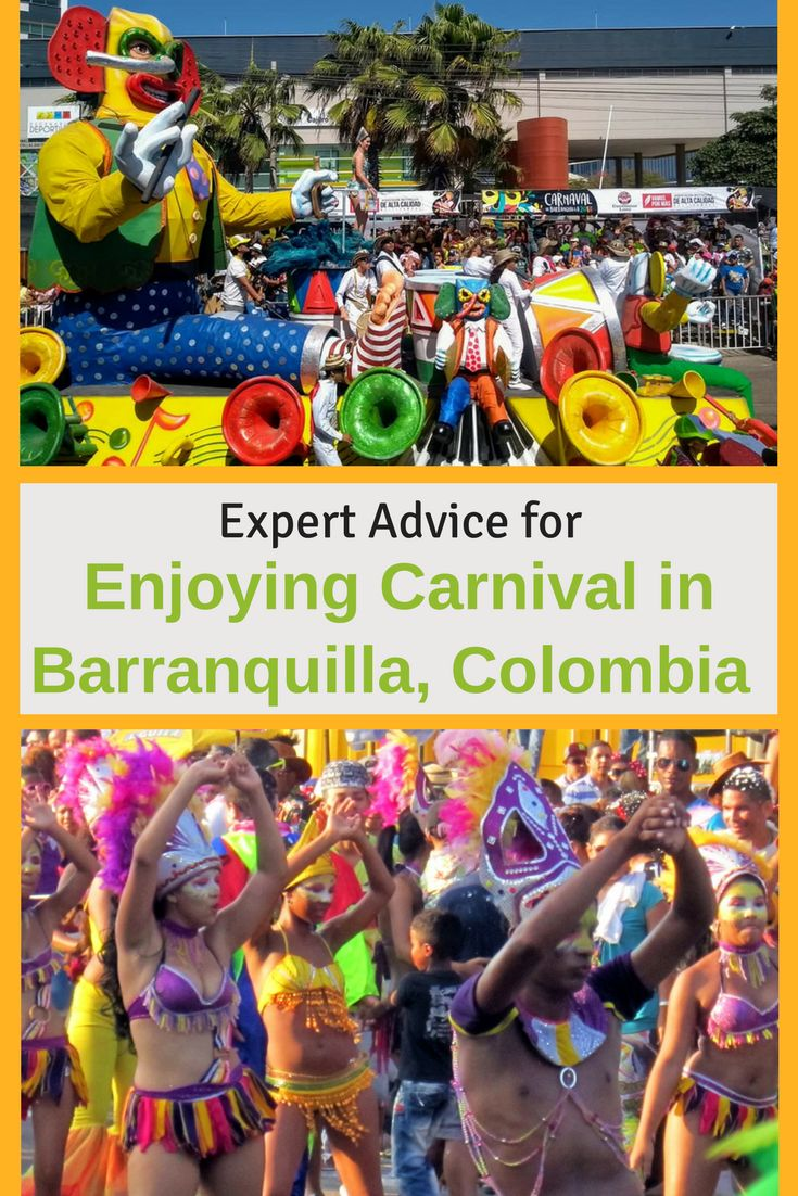 Tips for traveling to Carnival in Barranquilla, Colombia