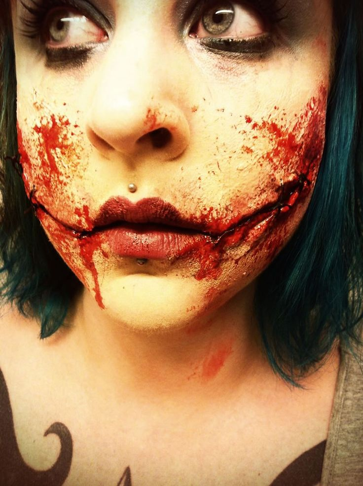 25 scariest halloween makeup ideas face off shared via slingpic