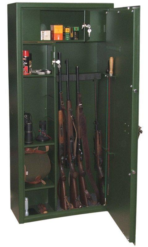 Minősített fegyverszekrény FSZ-10/6 - Strauss Metal - Strauss Metal Páncélszekrény Biztonságtechnika