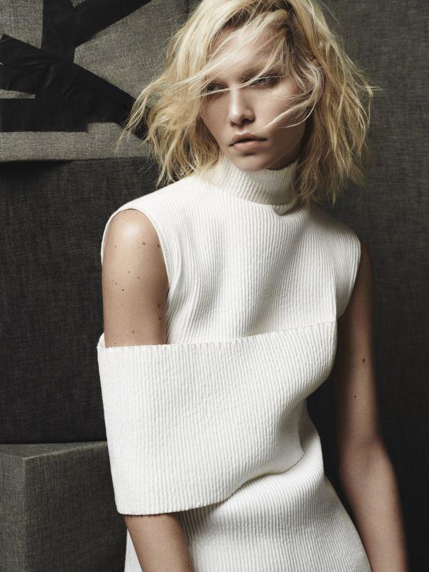Aline Weber by Raf Stahelin for Dujour Magazine December 2013  #minimalist #fashion #style