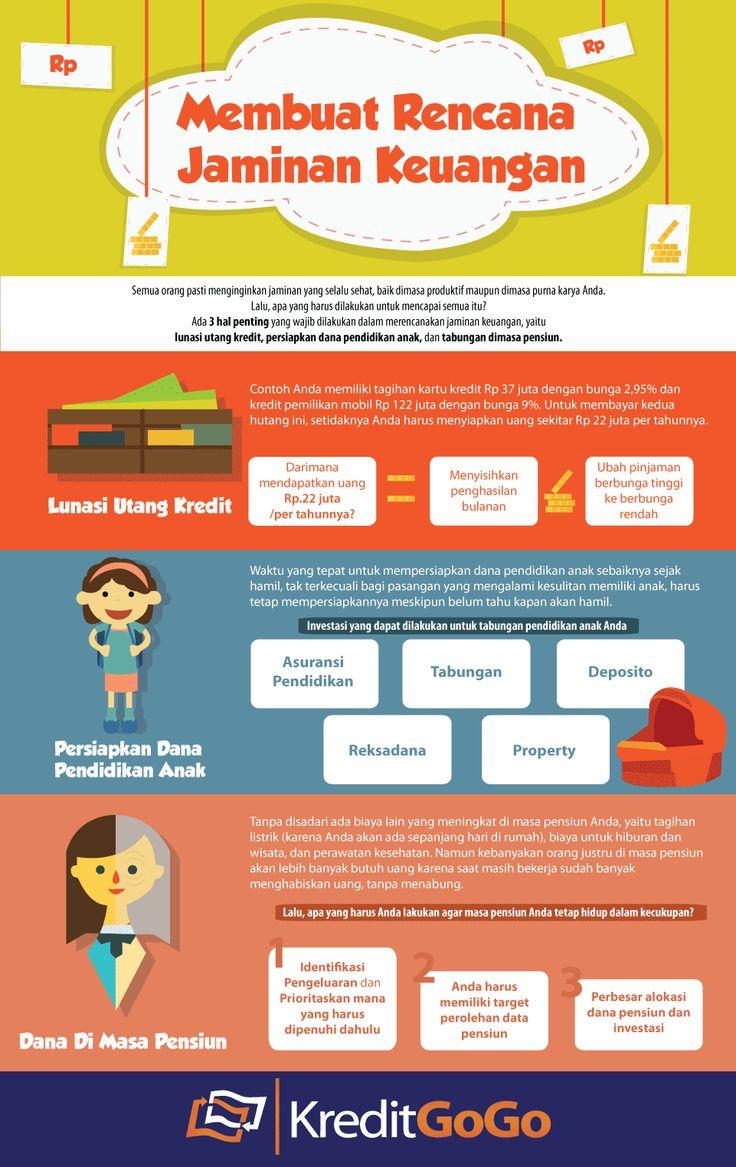 Membuat Rencana Jaminan Keuangan https://kreditgogo.com/artikel/Keuangan-dan-Anda/-Membuat-Rencana-Jaminan-Keuangan.html #Infografik #JaminanKeuangan #InfoKeuangan #Graphic #Grafik #Rencanakeuangan