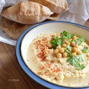 Ptysiu Mietowy: Najprostszy przepis na humus i tahini