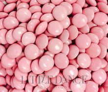 Light pink chocolate beans for sale online in Australia. You can buy or order light pink choc beans from our Australian online shop, Sweet As Can Be