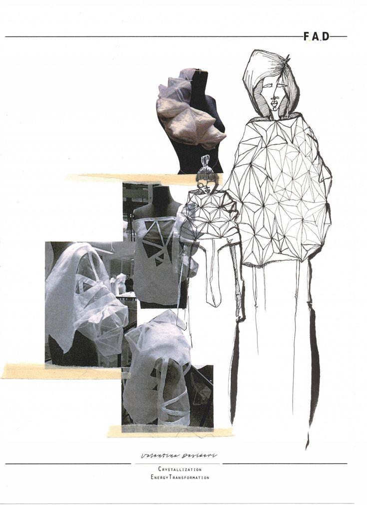 Fashion Sketchbook - fashion sketch; fashion design development; creative process; fashion portfolio // Valentina Desideri