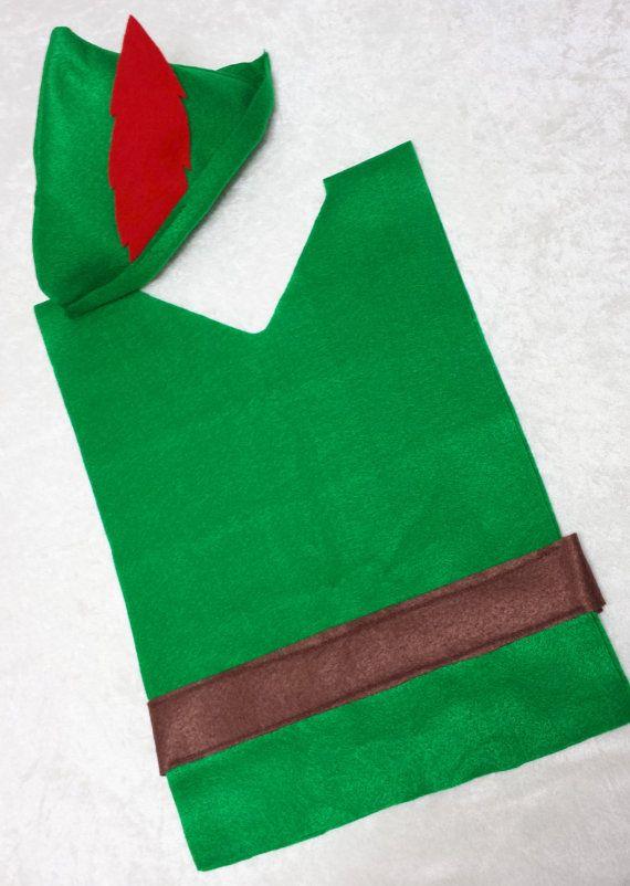 Peter Pan / Robin Hood Costume Set by TeatotsPartyPlanning on Etsy