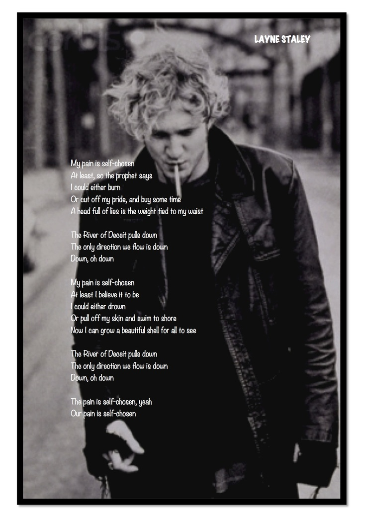Layne Staley : mad season lyrics from Above Cd #Classic (awesome find. Can you even imagine what he could have done if he didn't die? What a voice. What  soul....)