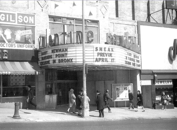 The Valentine Theatre   237 E. Fordham Road, Bronx, NY 10458 (1971) |  Vintage Bronx (NYC) | Pinterest | City