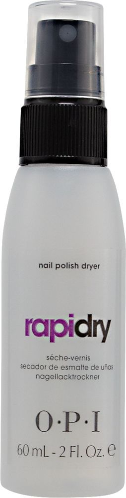 OPI RapiDry Spray Nail Polish Dryer gives manicures a smooth, smudge-proof finish in just minutes.Ad- #nails #polish #nailart  Perfect for a nail polish junkie !