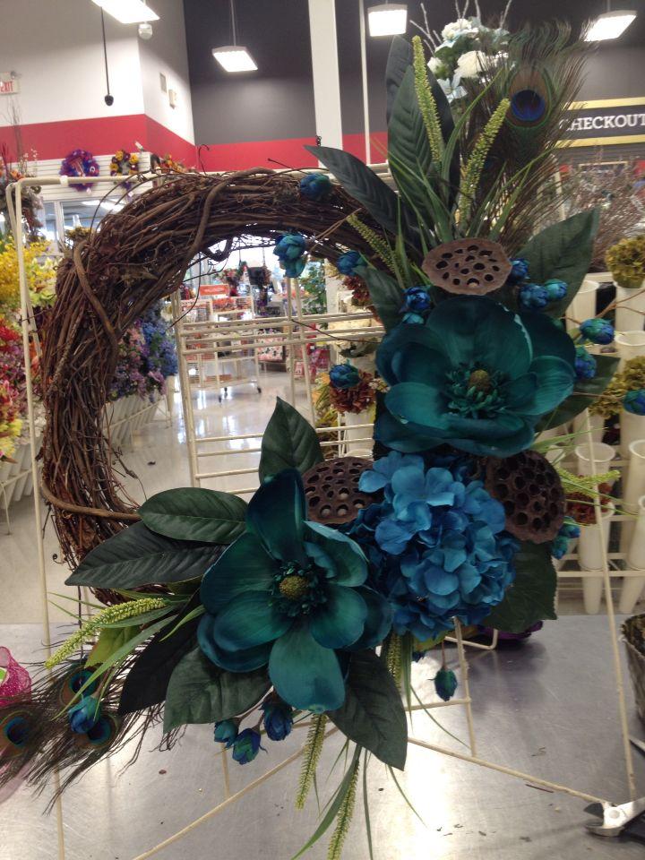 Peacock wreath                                                                                                                                                     More
