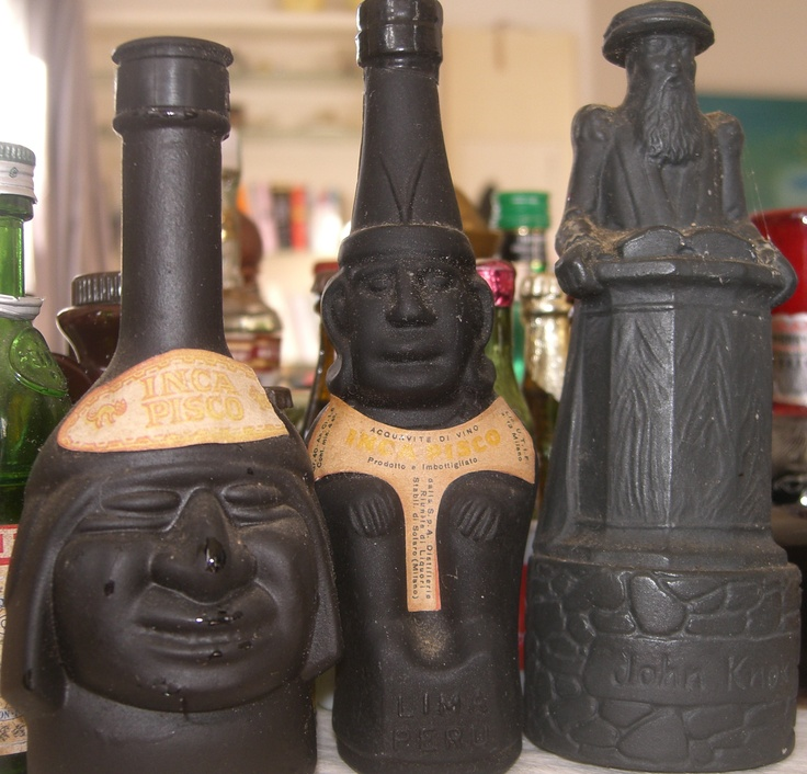 Miniature Alcohol Bottles