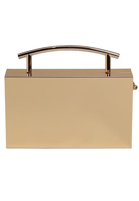 MANGO BOTON - Clutch - gold @ Zalando.de 🛒