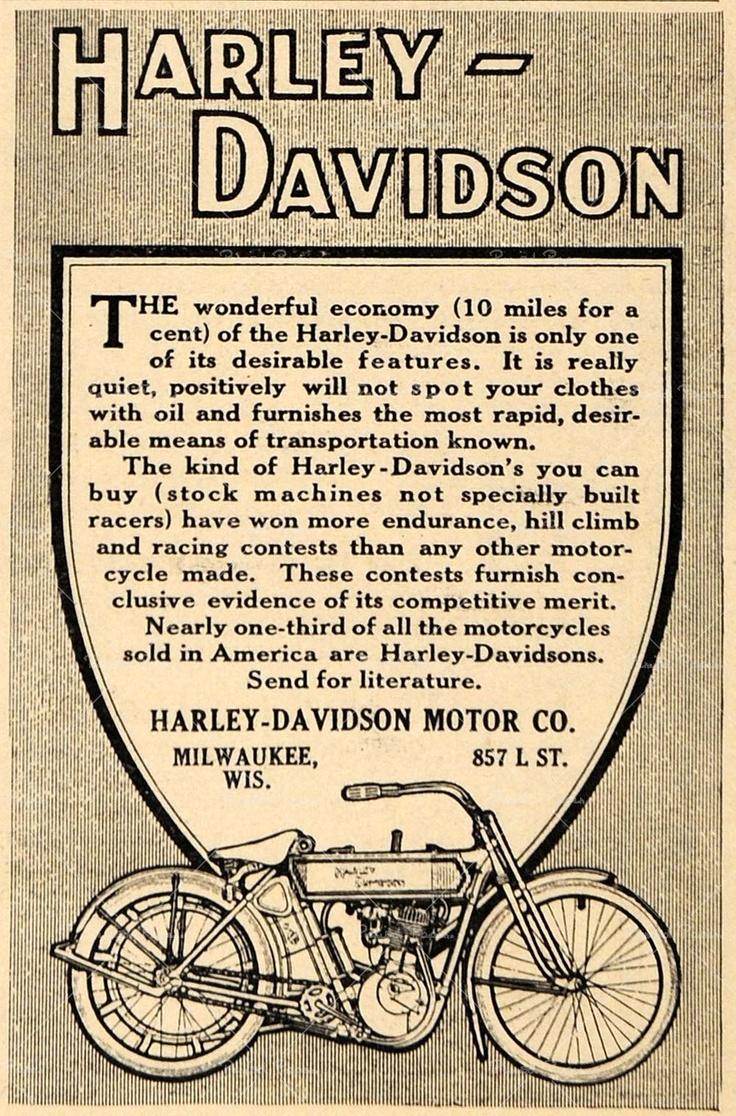 Harley Davidson ad  WISCONSIN