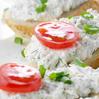 Artichoke Bruschetta...Artichoke hearts blended together with three kinds of cheese and garlic to get a wonderful, smooth texture and amazing flavor!!