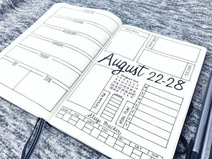 84 best Bullet Journal images on Pinterest | Notizbuch, Notebooks ...