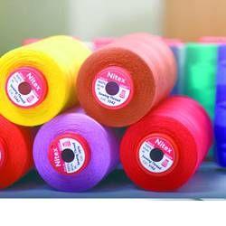 Нить швейная 100% PE 50/2 цв S-874 зеленый светлый (боб 5000ярдов) NITEX