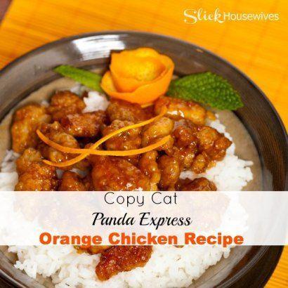 Copy Cat Panda Express Orange Chicken Recipe - Slick Housewives