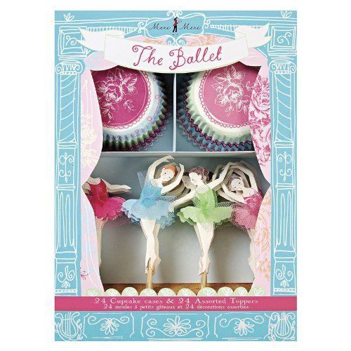 Meri Meri The Ballet Cupcake Kit ** Haven't you heard that you can find more discounts at this image link : Baking supplies