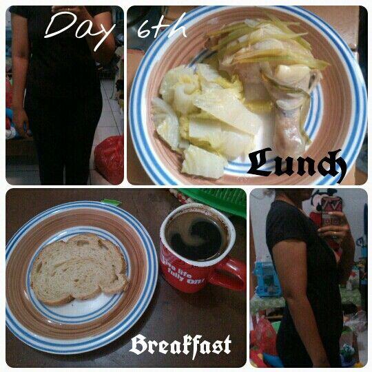 Diet Mayo day 6