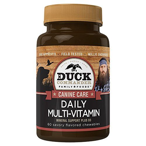 Duck Commander Dog Vitamins Daily Dog MultiVitamin 60 Count Bottle >>> You can find out more details at the link of the image-affiliate link. #DogsVitamins