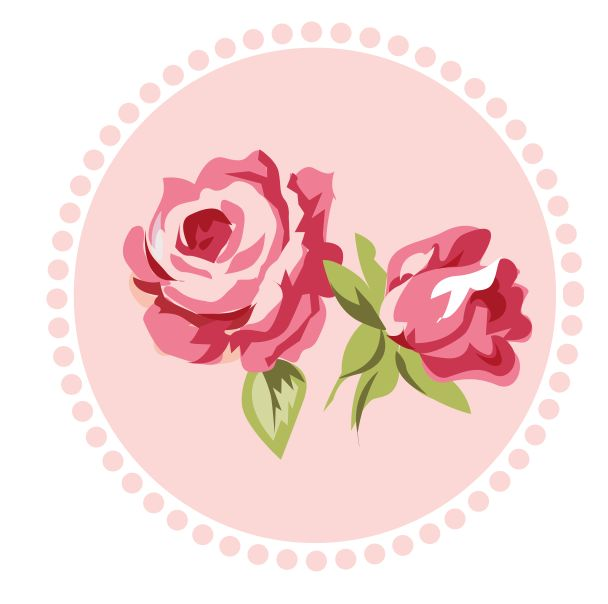 Shabby Chic Pink-Gray - Rose 02.png - Minus