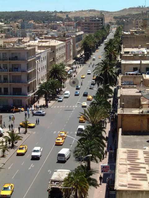Djibouti, Djibouti, I don't know how many times I went down this street. The nightlife is surprisingly fun!