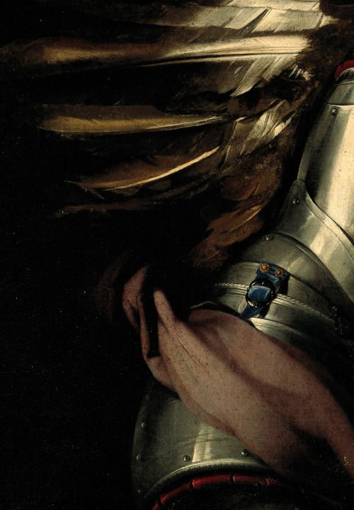 Heavenly Love and Earthly Love, Giovanni Baglione,1602-03. Detail.