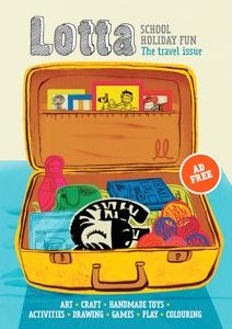 Lotta is a magazine for 5-10 year old kids that is full of school holiday activities. It is Australia's first ad-free kids magazine and is released four times a year to coincide with the school holidays.