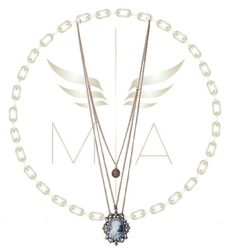 Collar en bronce by Mery Angel accesorios #jewerly #collar #bronce #fashion #design #newlook #chic #estilo #bogota