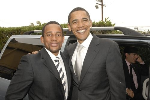 Hill Harper and President Obama       Intelligent, well-spoken activists...well put-together...just doing the thang!
