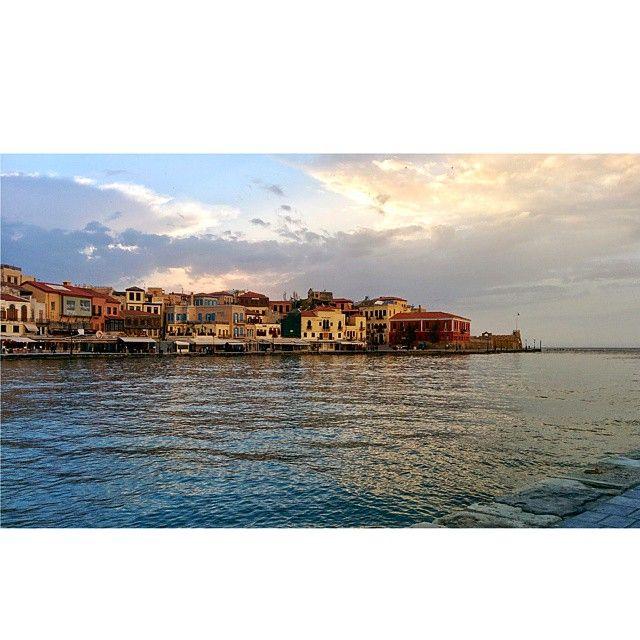 #Chania #Crete #Harbour Photo credits: @mariella_st