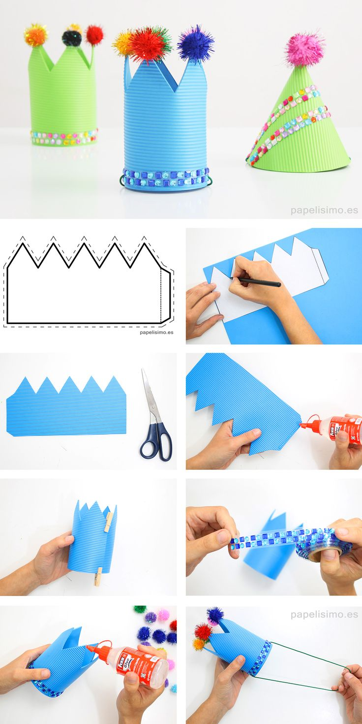 Como-hacer-coronas-de-fiesta-goma-eva-diy-party-crowns