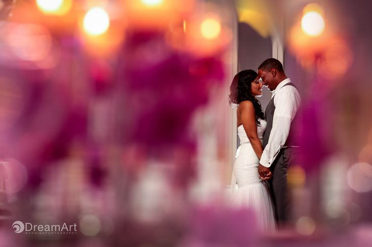 Bride and groom share a intimate moment during their first dance as husband and wife at the @gvrivieramaya in the Mayan Riviera, Mexico. Photo courtesy of #DreamArtPhotography.
