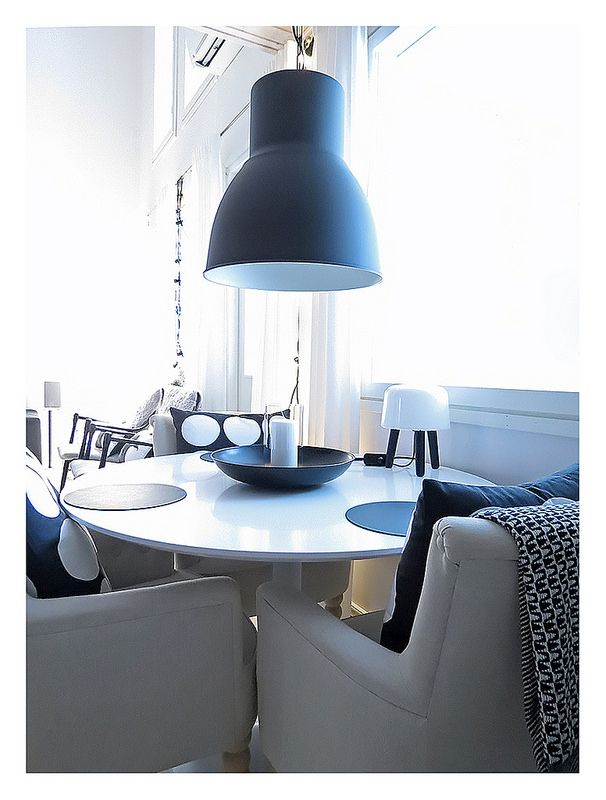 32 best images about ikea 39 s hektar light on pinterest table and chairs industrial and george. Black Bedroom Furniture Sets. Home Design Ideas