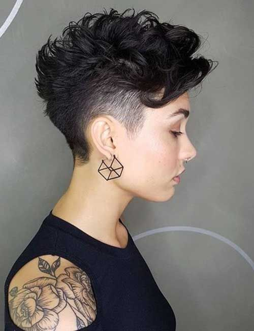 60 Best Short Haircuts For 2018 2019 Tattoos Short Curly