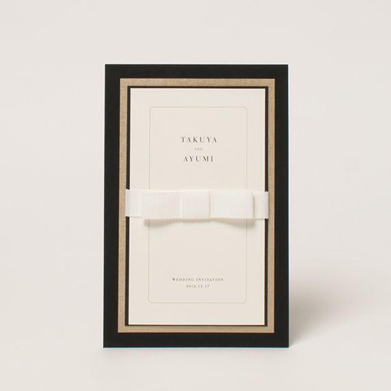 結婚式招待状・席次表・席札専門店【 favori ファヴォリ 】   オドレイ