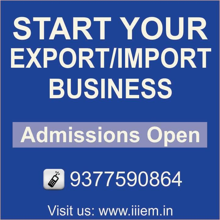 Start Your Export and Import Business
