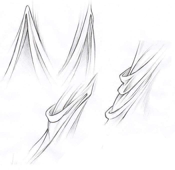 Como Desenhar Roupas De Manga Parte 1 Com Imagens Tutoriais
