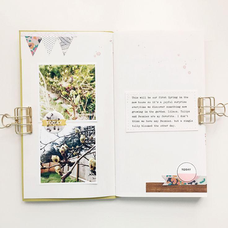 March Traveler's Notebook — bananafishstudio