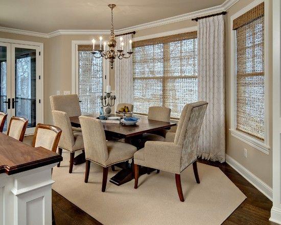 window treatment ideas for dining room bay window ikea