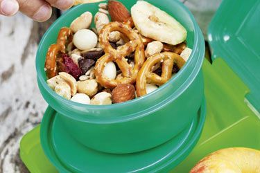 Scroggin mix recipe, NZ Woman's Weekly – Scroggin mix is great for a snack on the go. The combination of nuts and dried fruit is delicious and this recipe is quick and easy to assemble. Perfect for school lunches or afternoon snacks. – foodhub.co.nz