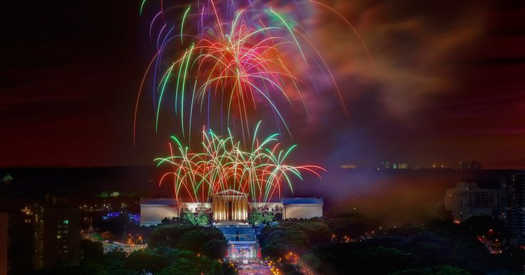 Get ready for July 4th celebrations in Philly — fireworks, concerts, block parties and more...
