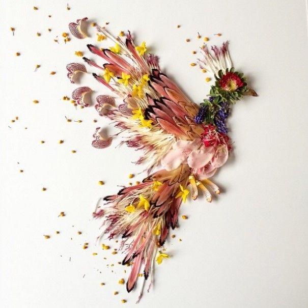 Bridget Beth Collins Umenie z prírodného materiálu 1
