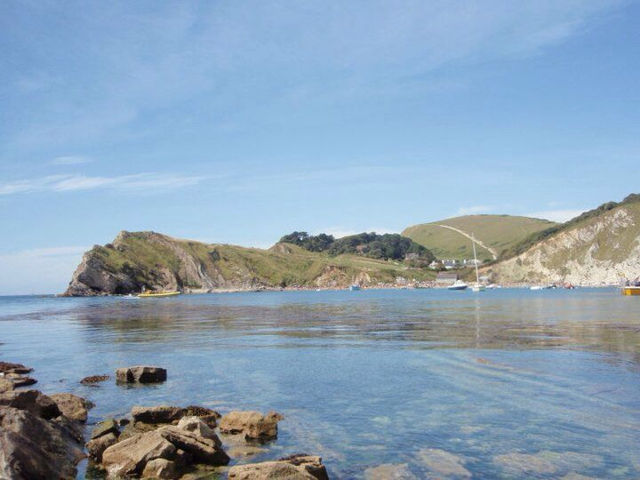 Lulworth Cove is the most magical place imaginable!