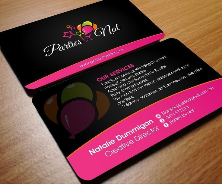 Business Cards For Event Planners