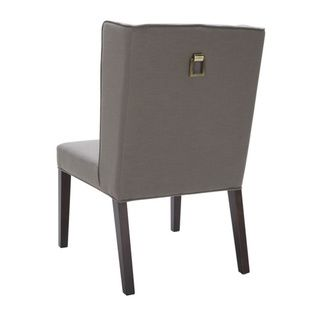Sunpan Clarkson Rhino Grey Upholstered Dining Chair - Overstock™ Shopping - Great Deals on Sunpan Dining Chairs