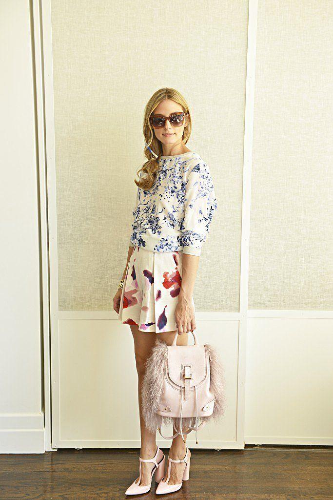 Olivia Palermo Style | Mixed Prints