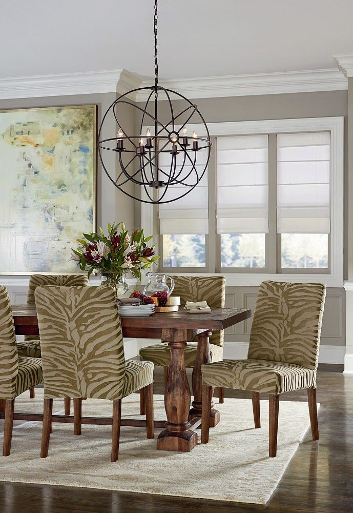 Stretch Zebra Collection Dining Chair Slipcovers
