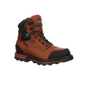 Rocky Men's Elements Dirt Safety Work Boots  #rocky #mens #elements #dirt #safety #workboots #mens #steeltoe #brown #virginiabeach #westernbootsales #pungoridge