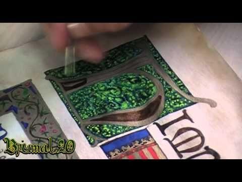 Como hacer un Pergamino Medieval.