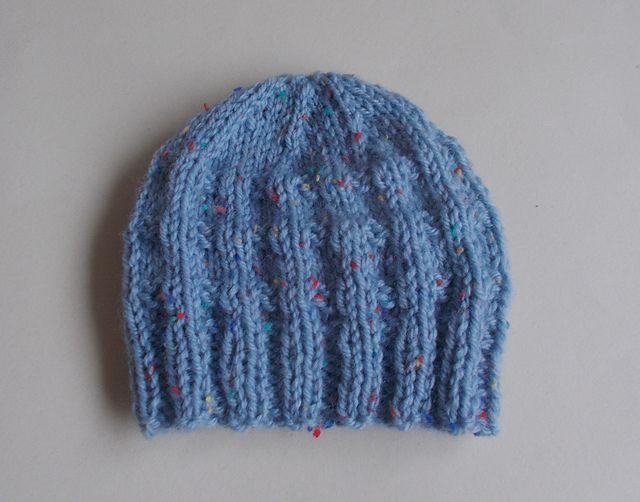 d806b9950 Charlie - Baby Beanie Hat pattern by marianna mel | Knitting ideas ...